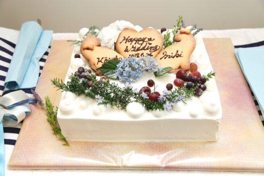 鳥取 結婚式 レイガーデンのウェディングケーキ