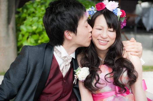鳥取 結婚式 砂丘の家レイガーデンでガーデン挙式を